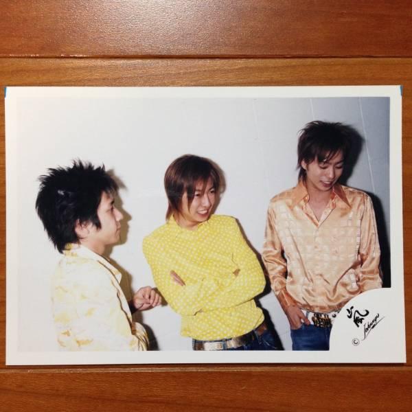 即決¥1500★嵐 公式写真 1109★櫻井翔 二宮和也 相葉雅紀 茶髪 貴重 嵐ロゴ