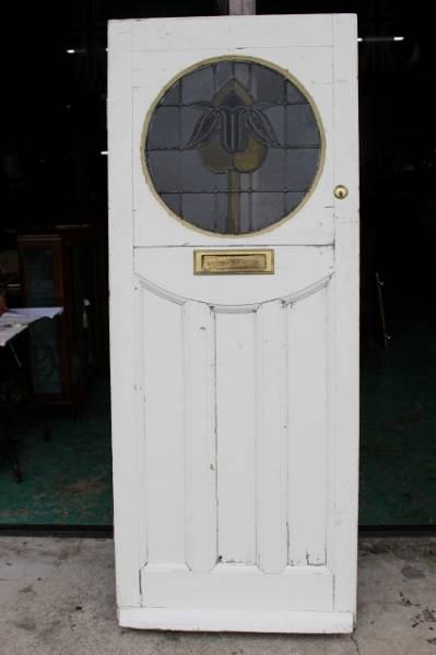 イギリス アンティークドア ステンドグラス ステンドグラスドア ドア ステンドガラス 英国製 p185_画像1