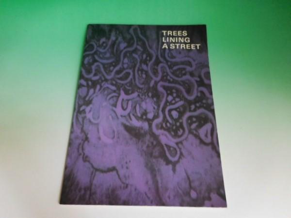 尾崎豊 ツアーパンフレット TREES LINING A STREET 1987年