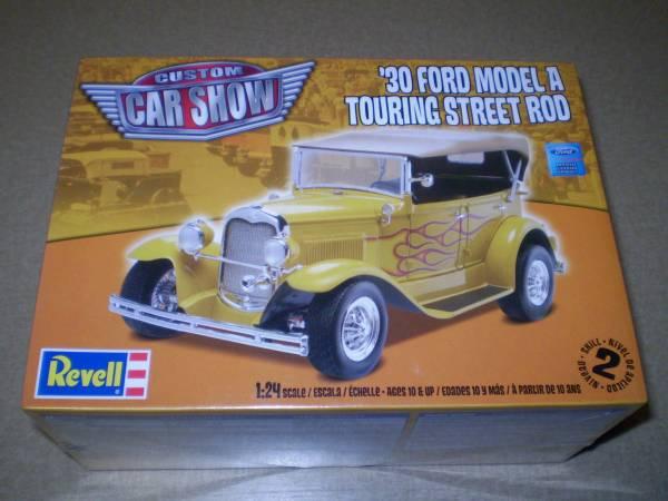 レベル 1/24 '30フォード モデルA ツーリング ストリートロッド_画像1
