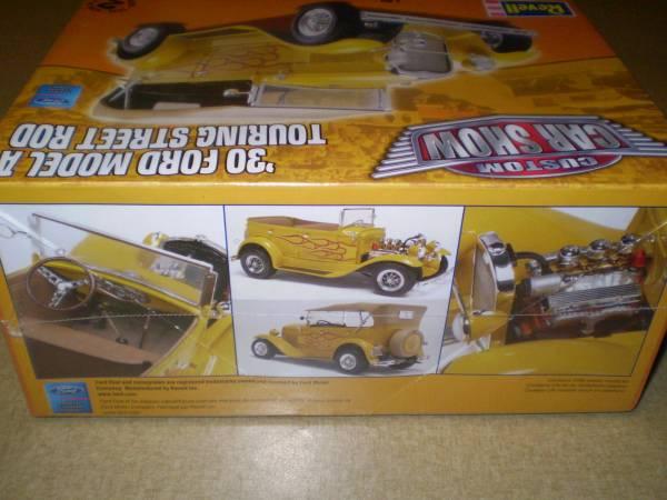レベル 1/24 '30フォード モデルA ツーリング ストリートロッド_画像2
