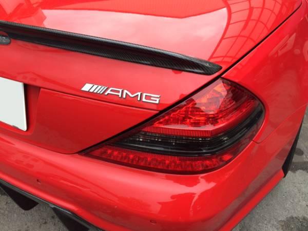 純正同型/リア/トランク/エンブレム『AMG』BENZベンツX204GLK300GLK350/後期/スポーツ/パッケージ/エディション/シュバルツ/4マチック/4WD_画像2