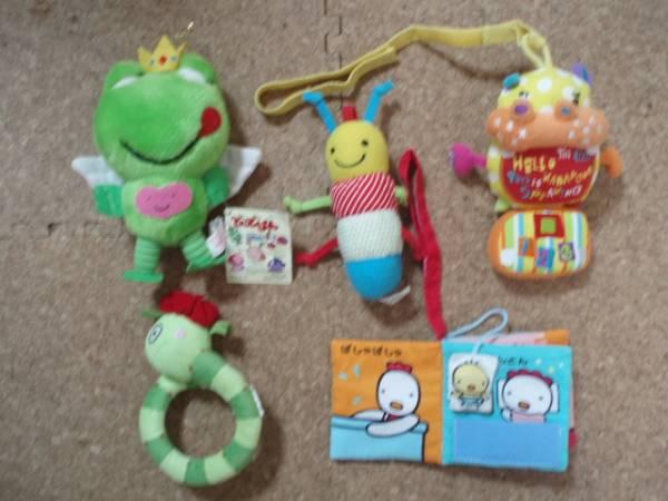 がらがらなど ベビー用おもちゃ 5点セット B_画像1