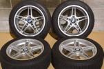 【良好品】レーシングダイナミクス 17in PCD120 7.5J +34 2010年製 DSX-2 225/50R17 ランフラット BMW 3シリーズ 5シリーズ E84 X1