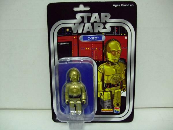 希少 スターウォーズ キューブリック C-3PO ブリスター_画像1