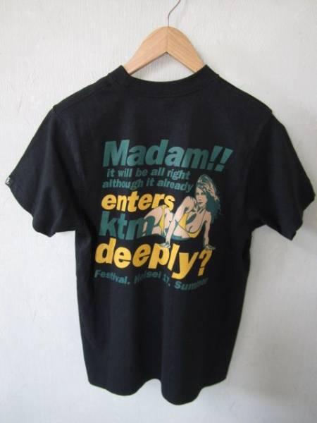 KTM ケツメイシ 2005マダム夏フェスツアーTシャツ 黒 Sサイズ