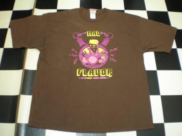 FLAVOR FLAV フレイヴァーフレイヴ PUBLIC ENEMY パブリックエナミー Tシャツ 2XL XXLサイズ BOMB SQUAD デフジャム DEFJAM USA製