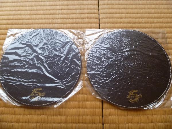 ⑳新品未開封☆ZARD 15th Anniversary マウスパッド 非売品 2個
