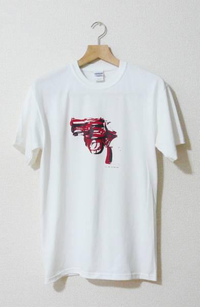 アンディーウォーホール Tシャツ Sサイズ Andy Warhol Gun