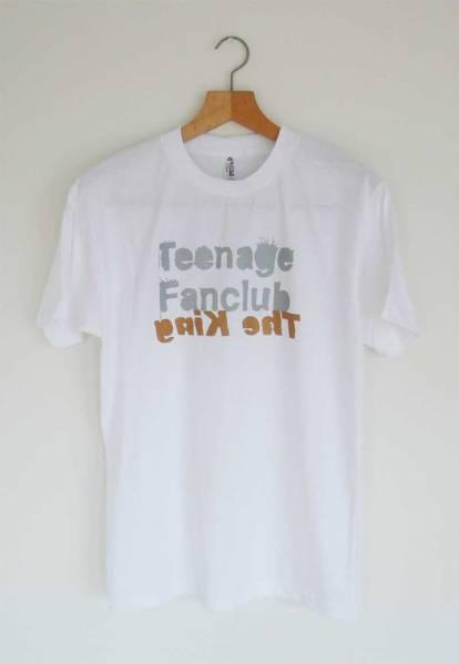 【新品】 Teenage Fanclub Tシャツ SizeS ネオアコ ギターポップ