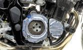 スケルトン クラッチカバー 86-92' GSX-R1100 / GSF1200 Bandit / GSF600bandit GSX750 アルミ削り出し GSG Mototechnik MD-S9R ドイツ製