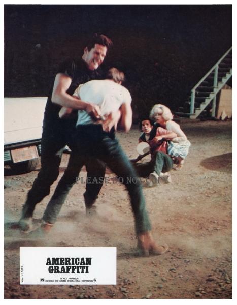 1973年 アメリカン・グラフィティ ロビーカード 2枚 付き