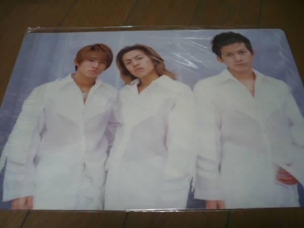 ★V6★カミセン★下敷き★2001 コンサートグッズの画像