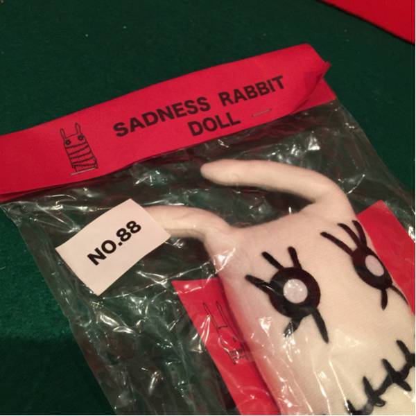 SADNESS RABBIT DOLL【NO 88】未開封品・当時物[現状現品渡し]倉庫保管品_画像2