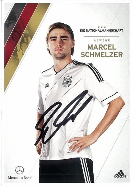B120 代表発行直筆サイン ドイツ代表 マルセル・シュメルツァー DFB2012 ドルトムント