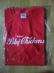 BBQ CHICKENS Tシャツ新品M/KEN YOKOYAMA WANIMA Hi-STANDARD PIZZA OF DEATH ライブグッズの画像