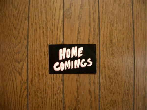★新品ラスト★Homecomings / ステッカー