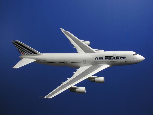 ★★ Air France B747-400 F-GISB 1/150 大型模型(新品)★★_画像2