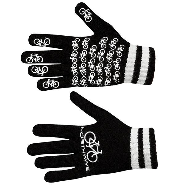 新品★自転車柄★NORTHWAVE Magic Gloves アクリル製手袋!_画像3