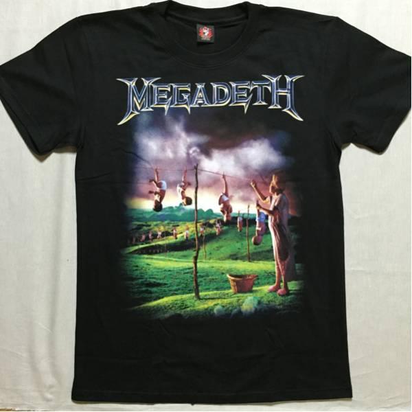 バンドTシャツ  メガデス(MEGADETH) 新品M