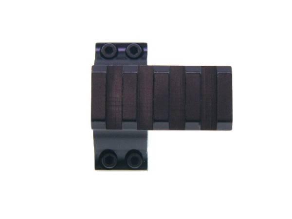 直径30mmリング20mm拡張4スロットレイル付アダプター【新品】_画像3