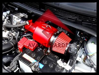 ★アヴァンガード★ キューブ Z12・NZ12 1.5L エクストリームチャンバーエアインテーク_画像2