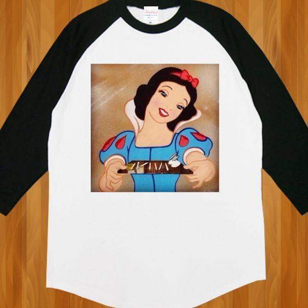 新品 白雪姫 コカイン ドラッグ 大麻 マリファナ Tシャツ2【M】_画像2