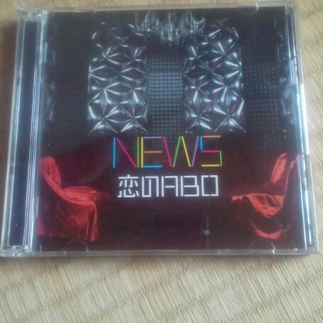NEWS「恋のABO」DVDつき中古品