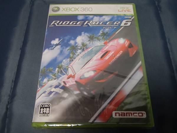 新品 Xbox360 リッジレーサー6