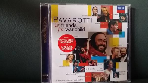 ☆即決!Pavarotti & Friends for War Child  CD