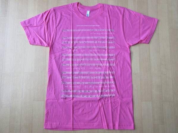 USA製 Bjork MoMA ビョーク 回顧展 楽譜 Tシャツ M 芸術 ART