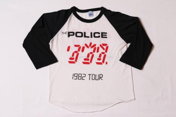 80s☆THE POLICE☆ポリス☆ツアーTシャツ/Lサイズ