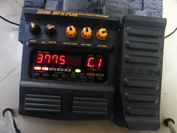 ZOOM BFX-708 整備済品