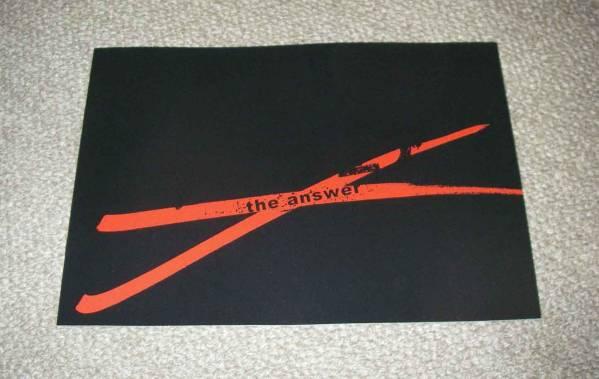 「アンフェア the answer」プレスシート:篠原涼子/佐藤浩市 グッズの画像