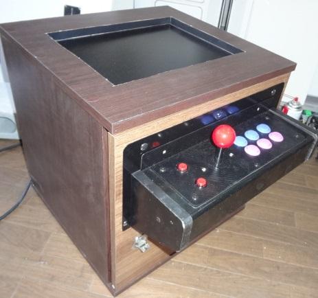 お座敷筐体 PC専用 1レバー6ボタンパネル仕様!