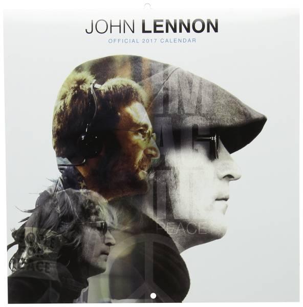 送料無料 ジョンレノン 2017 カレンダー ビートルズ 未開封1