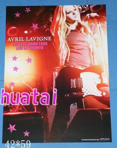 アヴリル・ラヴィーン Avril Lavigne 告知ポスター