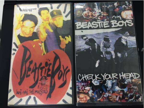 beastieboys ビィースティーボーイズ VHS レア映像