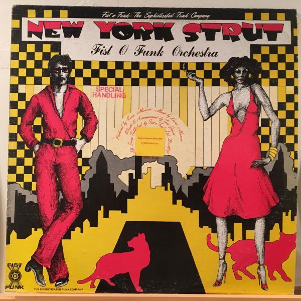 □Fist O Funk Orchestra/New York Strut□US DISCOクラシック!_画像1