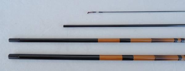 日本製釣竿 ダイシンオリジナル カーボン並継へら竿白翁 11尺_画像3
