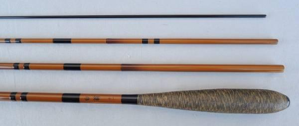 日本製釣竿 ダイシンオリジナル カーボン並継へら竿白翁 11尺_画像1