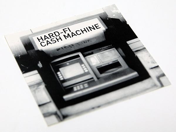 【限界最安値/即決555円/The Clashの再来/FUJI ROCK FESTIVAL 08/フジロック 出演】 Hard-Fi Cash Machine Stars Of CCTV ステッカー