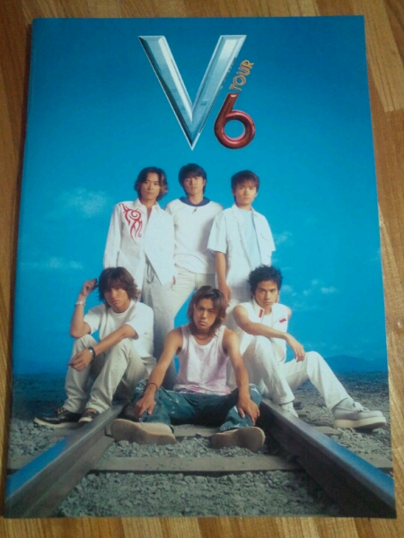 V6 TOUR パンフレット 公認グッズ トニセン カミセン 美品