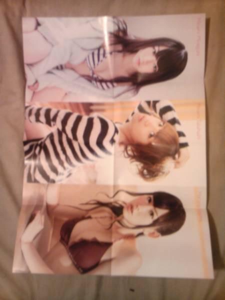 雑誌FRIDAY2012年1月20日付録ノースリーブスポスターのみ