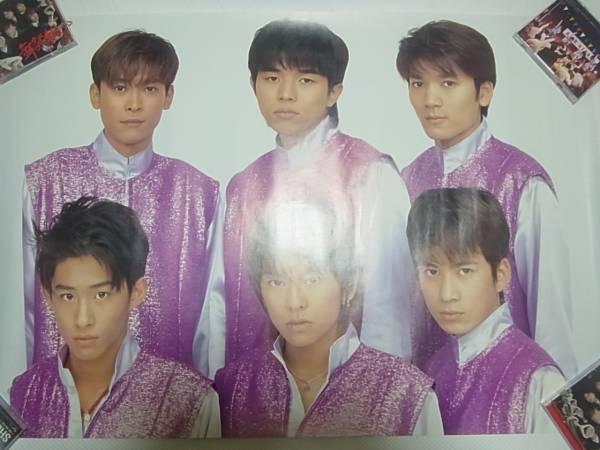 ★☆★V6★1997 集合ポスター★☆★