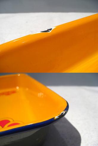 ビンテージ60's70's★ピーターマックスホーロープレート★USAF&E_画像3