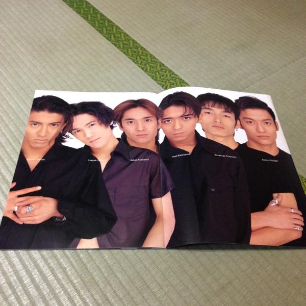SMAP■1995春コンサートパンフレット■貴重☆現在は非売品 コンサートグッズの画像