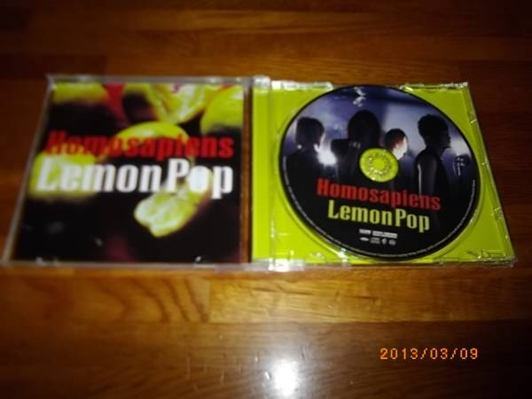 Lemon Pop Homosapiens ホモサピエンス_画像2