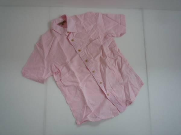 【お得!!】●ユニクロ/UNIQLO● 半袖シャツ ピンク 無地 S