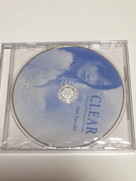℃-ute 鈴木愛理 写真集 CLEAR Making DVD Special Edition ライブグッズの画像